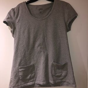 Style & Co Sport Gray Top